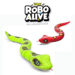 Serpiente Robotica Realista + Movimiento + Saca La Lengua.