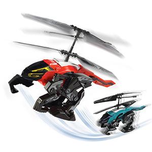 Helicoptero A Control Remoto Heli Beast 2 En 1