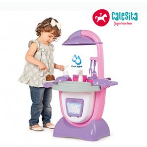 Cocina Sueño Rosa + Sonido + Accesorios - Calesita