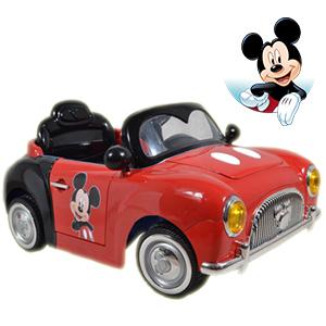 Auto A Bateria Disney Mickey 12v + mp3 + radio + Luces y mas!