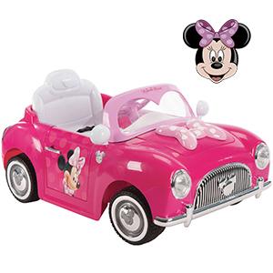 Auto A Bateria Disney Minnie + mp3 + radio y mas!!