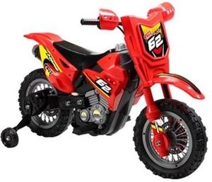 Motocross A Bateria  + Rueditas + Sonido Jem