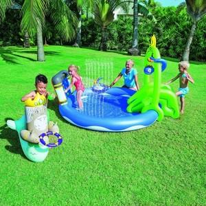 Pileta Inflable + Tobogan Niños Bestway
