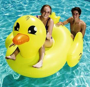 Pato Inflable Gigante 1.60x 1.43 Fashion Bestway