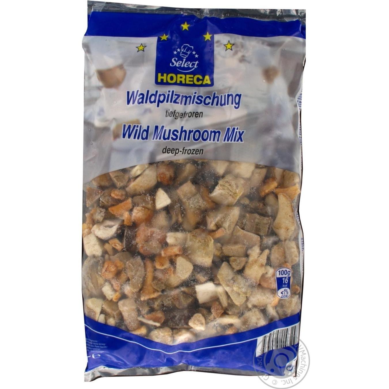 Купить Смесь лесных грибов Horeca Select глубокозамороженная 1кг
