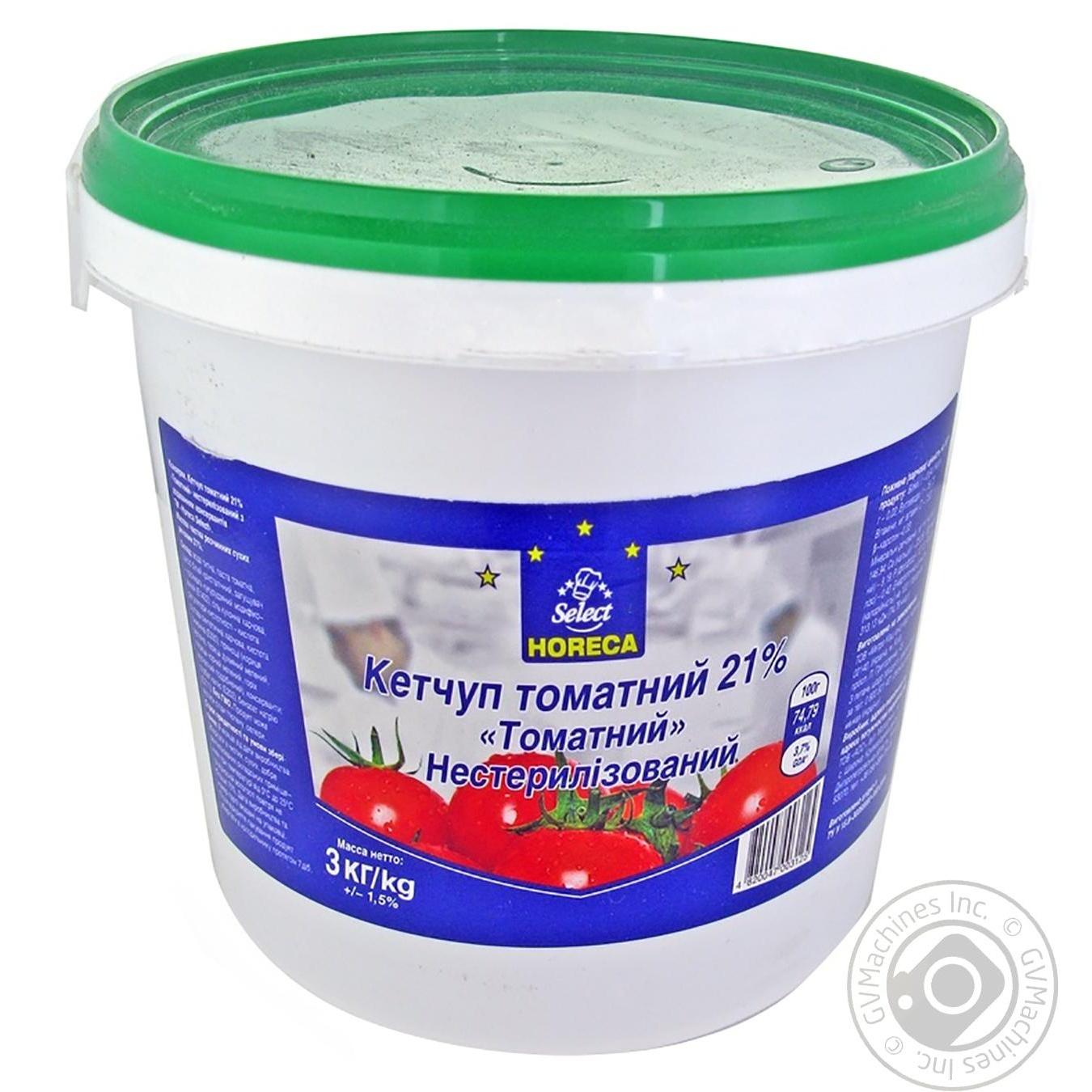 Купить Кетчуп томатний Horeca Select 21% 3000г