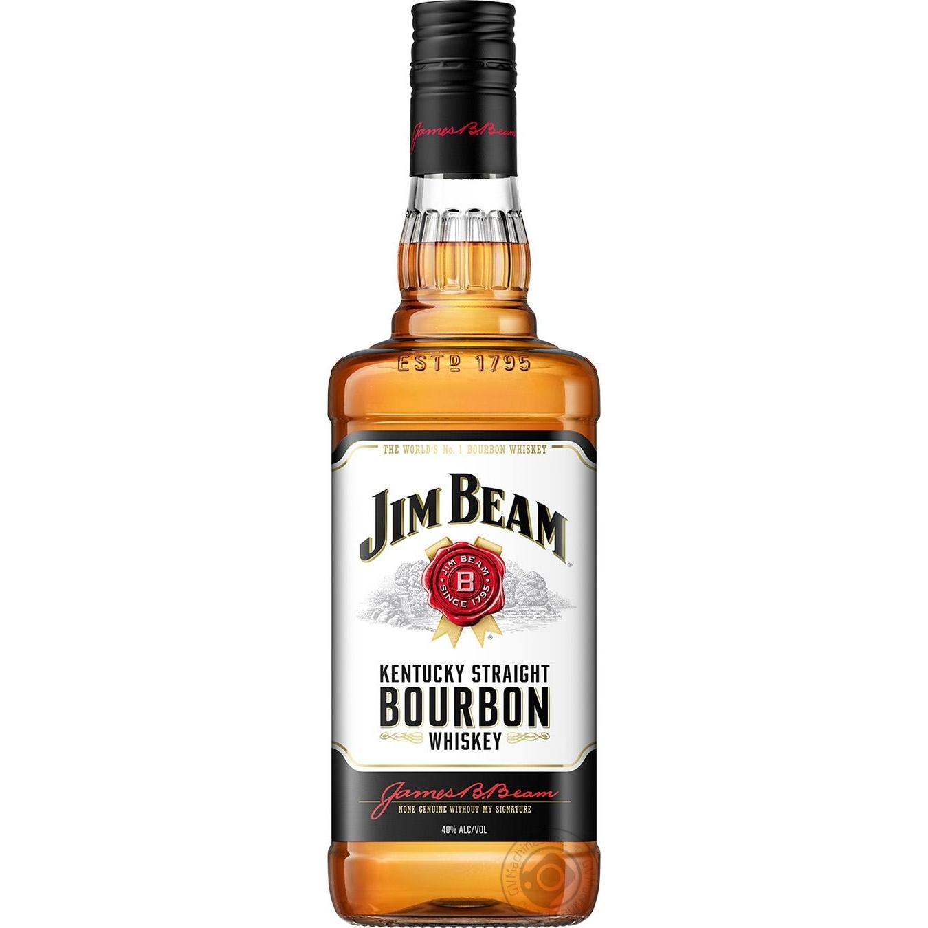 Купить Виски Jim Beam White 40% 0, 7л