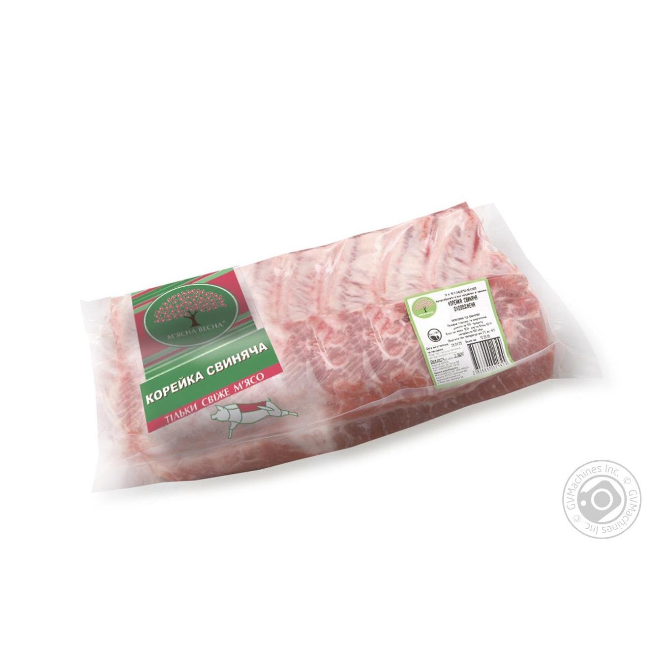 Купить Корейка свиная Мясная весна с костью от 4000г