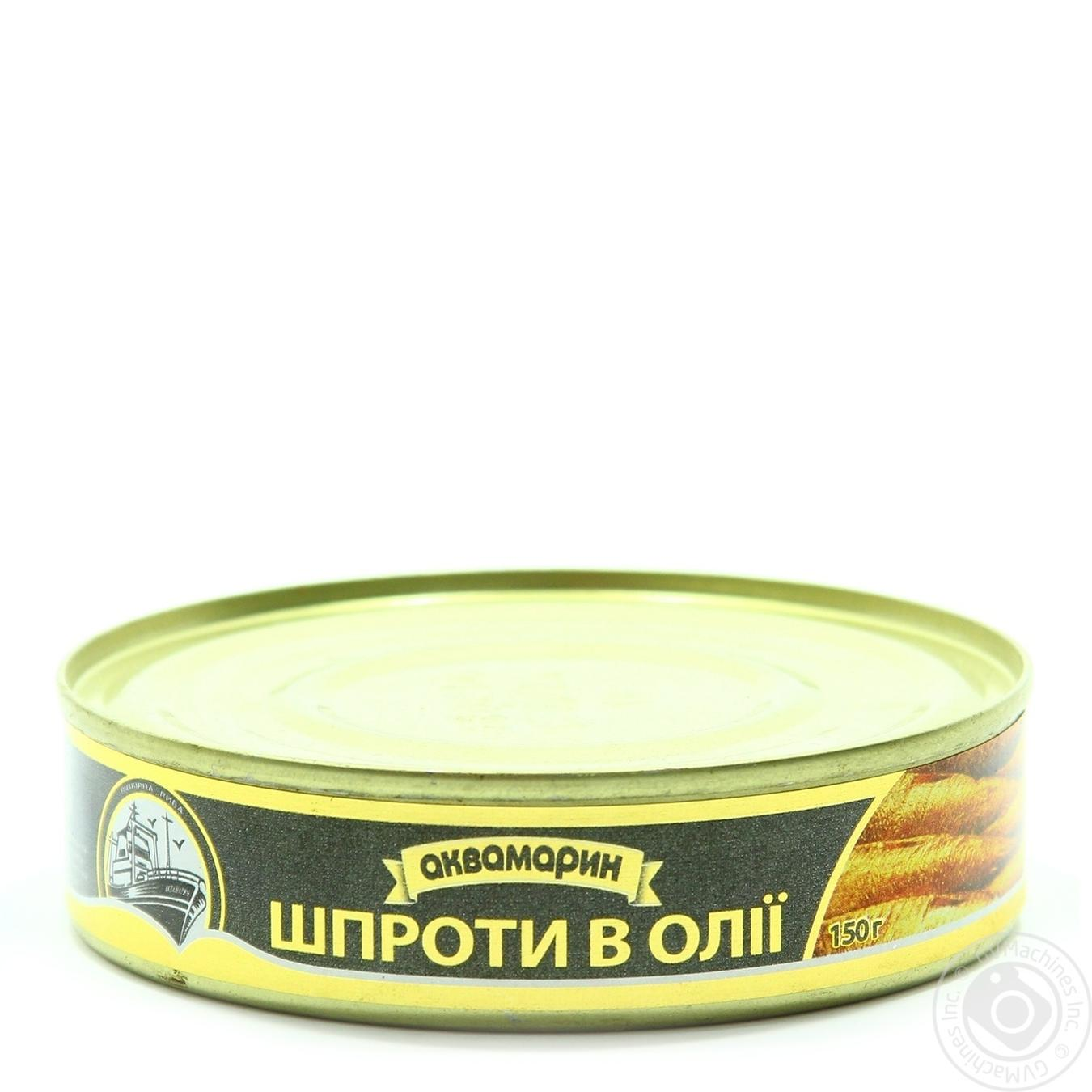 Купить АКВА ШПРОТИ В/М 150ГР