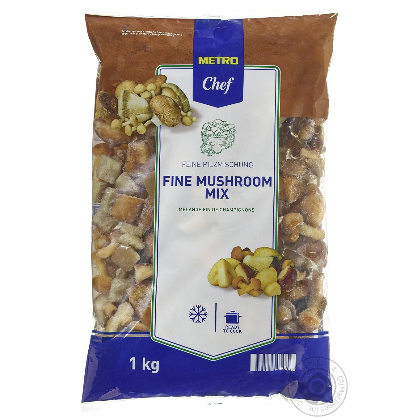 Купить Овочі та гриби, Суміш грибів METRO Chef заморожена 1кг
