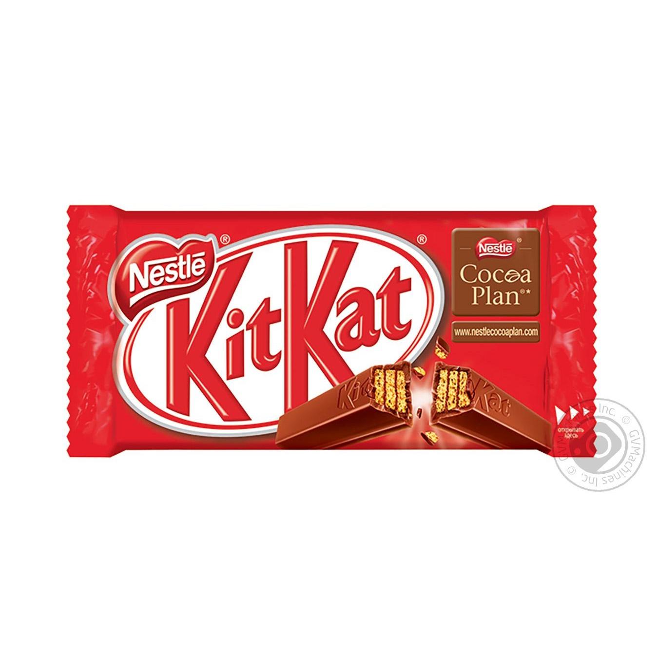 Купить Батончик шоколадный Nestle KitKat 4-fingers 41, 5г