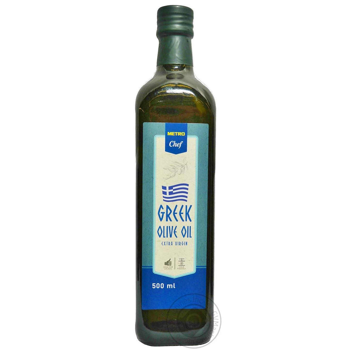 Купить Масло оливковое METRO Chef Extra virgin 500мл