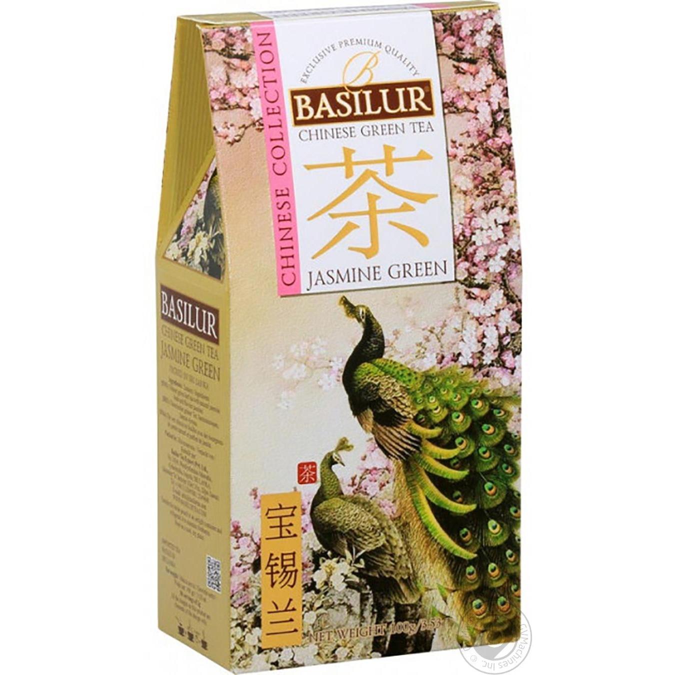Купить Чай Basilur зеленый китай жасмин 100г