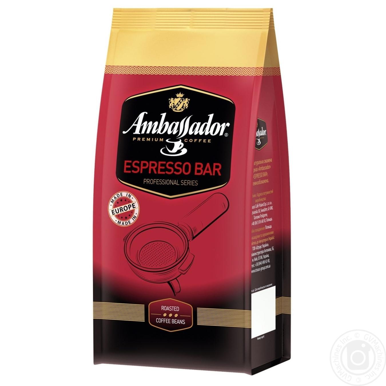 Купить Кофе Ambassador Espresso Bar в зернах 1кг
