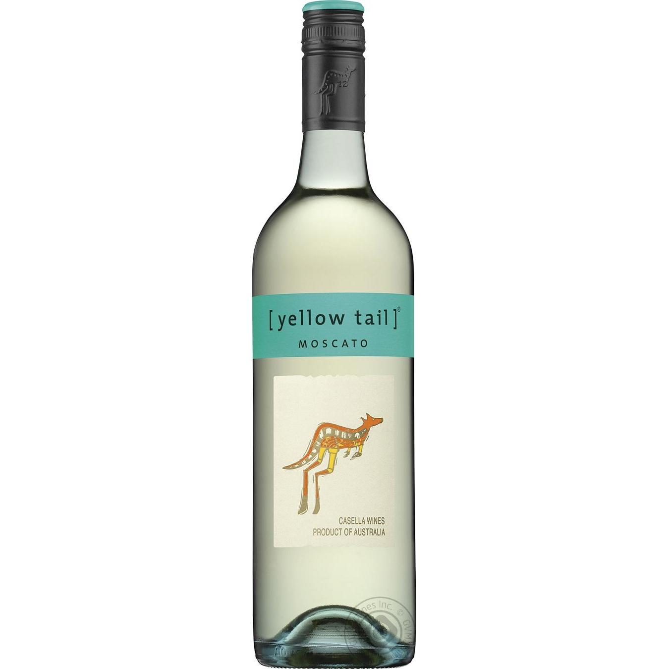 Купить Вино Yellow Tail Moscato белое полусладкое 7.5% 750мл