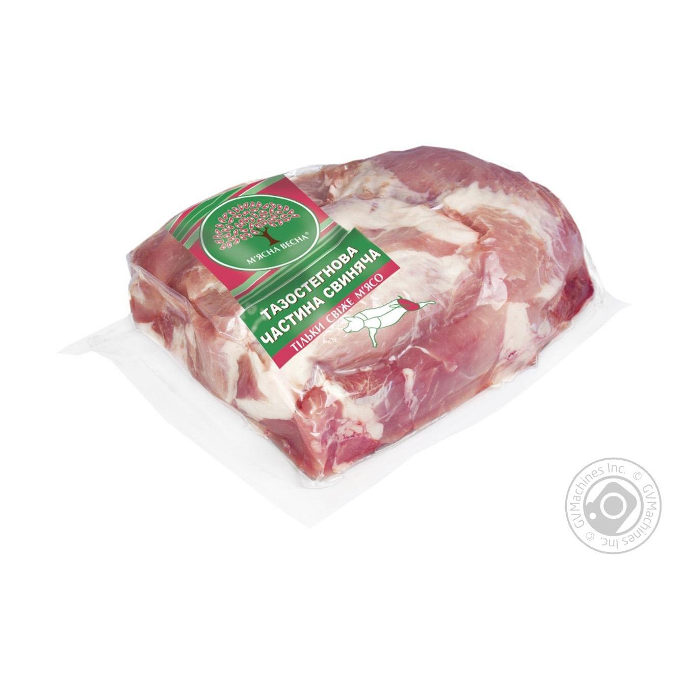 Купить Свіже м'ясо, Тазостегнова частина М'ясна Весна свиняча від 4000г