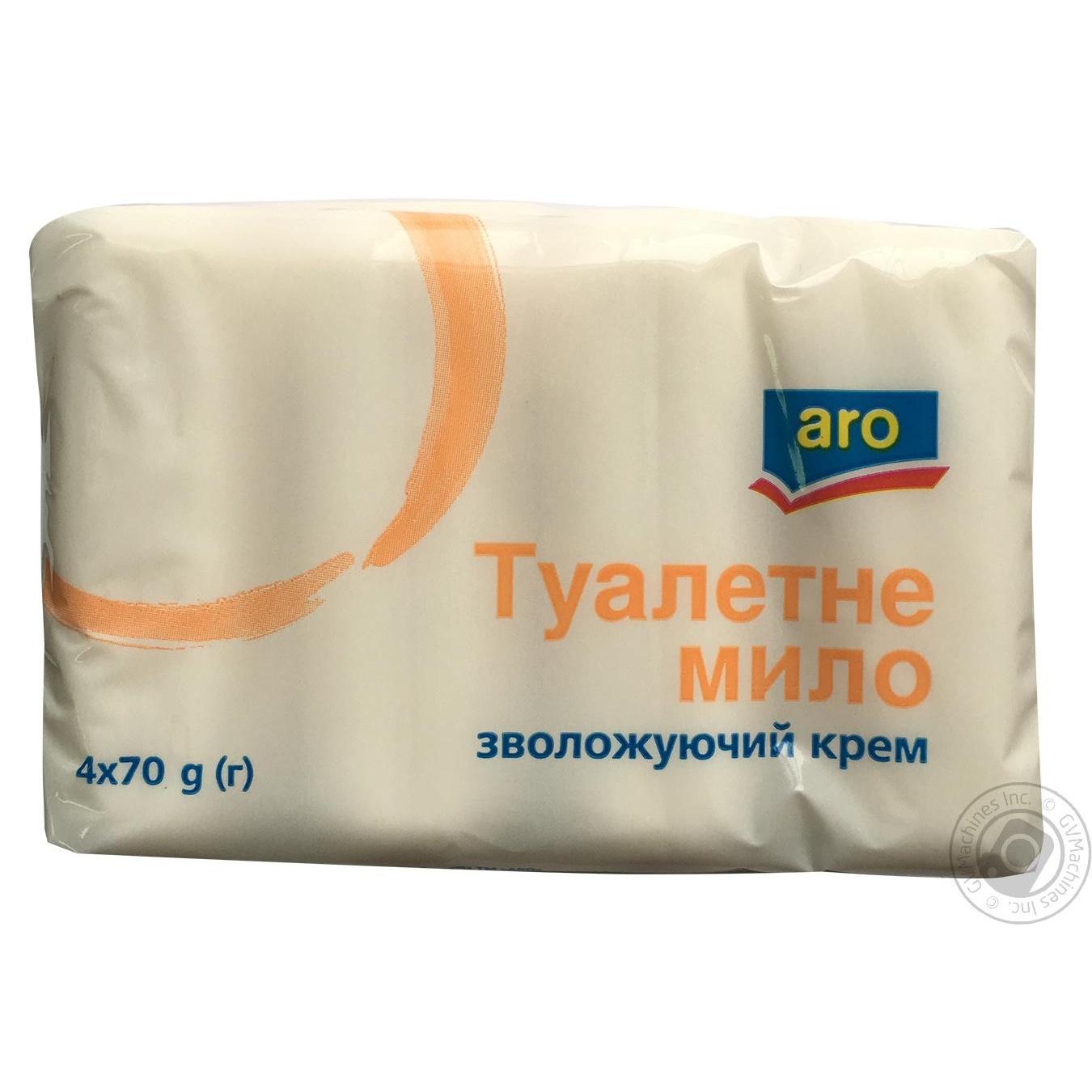 Купить Мыло Aro Увлажняющий крем 4*70г