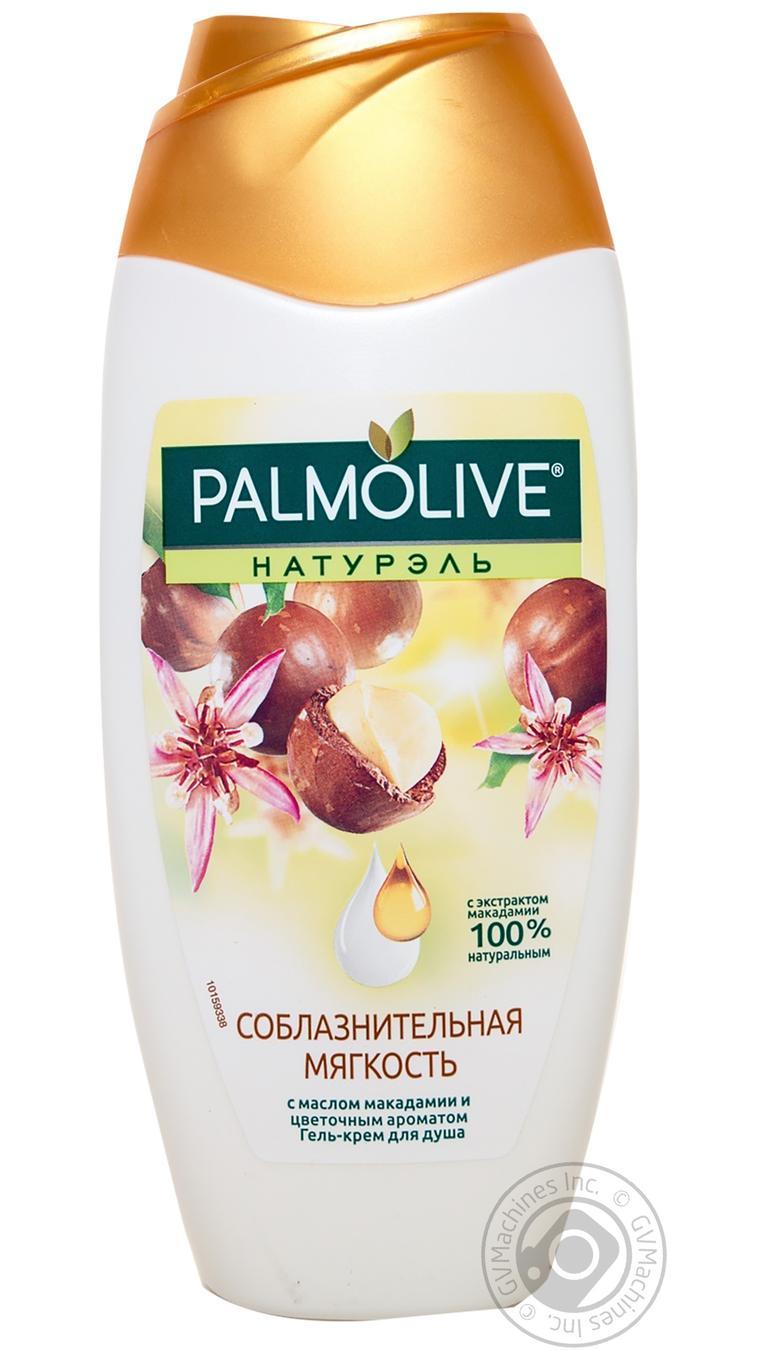 Купить Гель для душа Palmolive Натурэль Соблазнительная мягкость с маслом макадамии 250мл