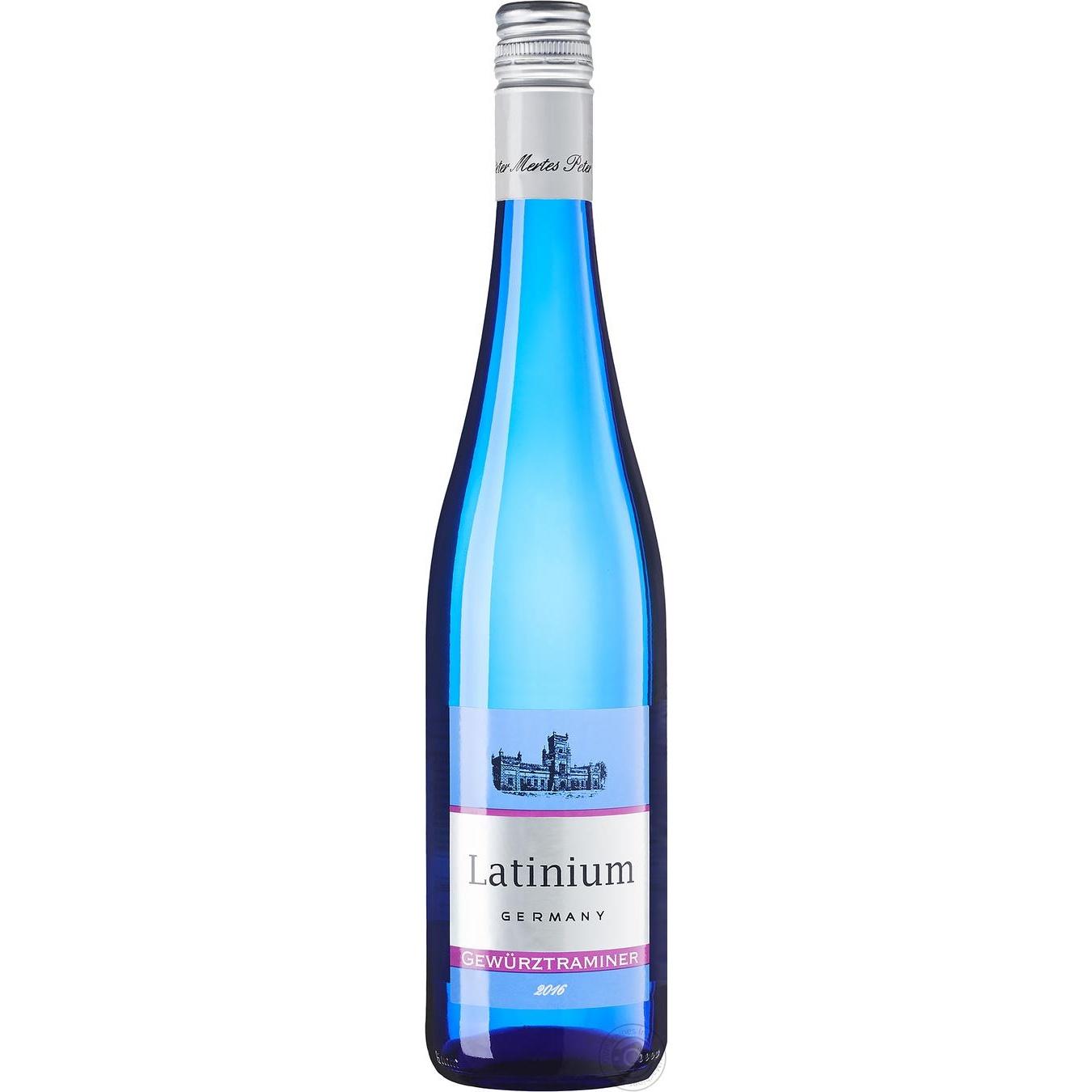 Купить Вино Latinium Гевюрцтраминер белое полусладкое 0, 75л