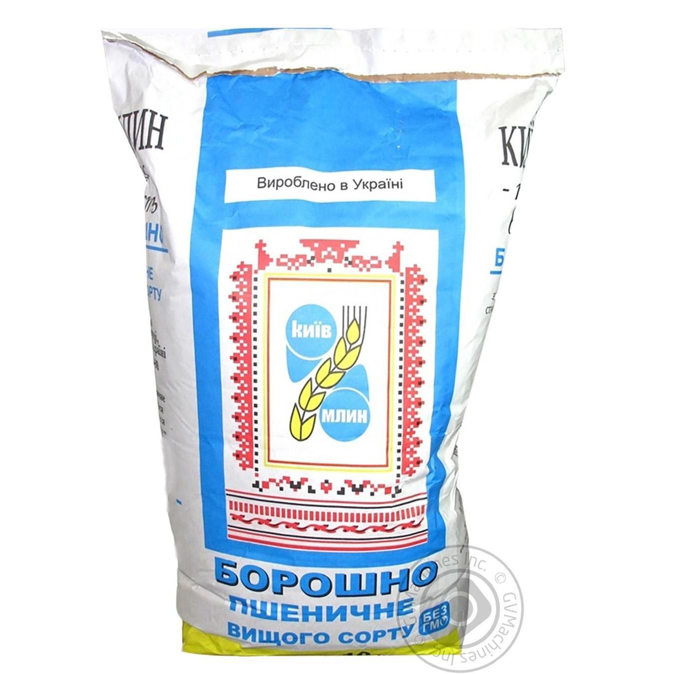 Купить Мука пшеничная Киев Млин в/с 10кг