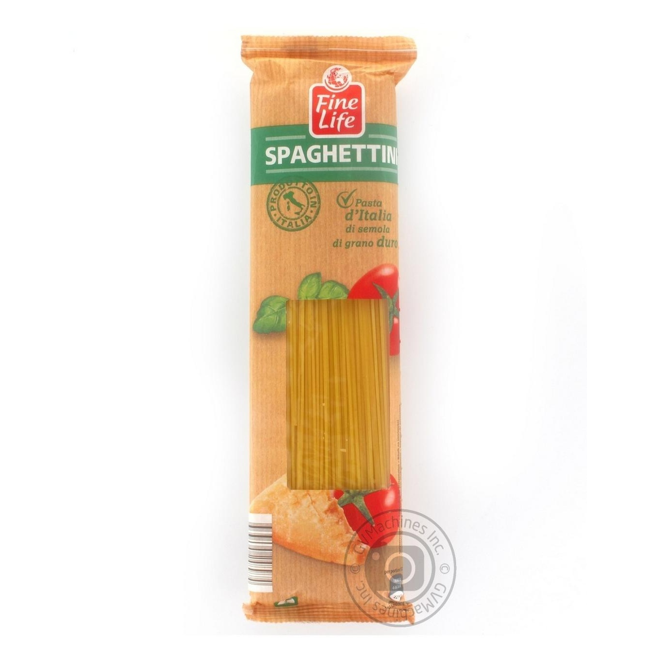 Купить Спагеттини Fine Life из твердых сортов пшеницы 500г