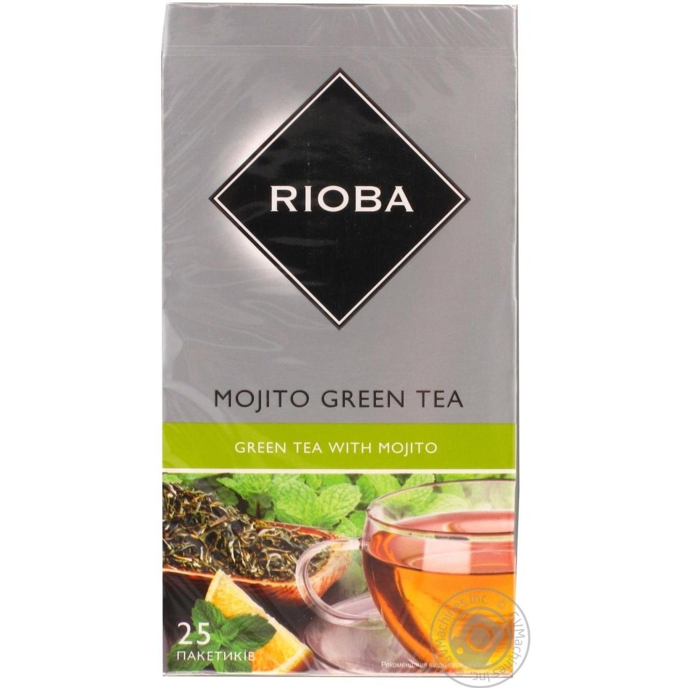 Купить Чай Rioba Мохіто зелений 25шт*2г