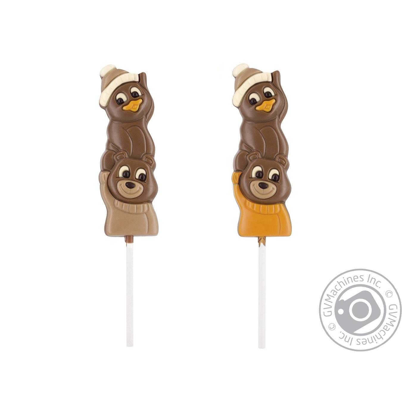 Купить Фігурка шоколадна пінгвін ведмідь 23г