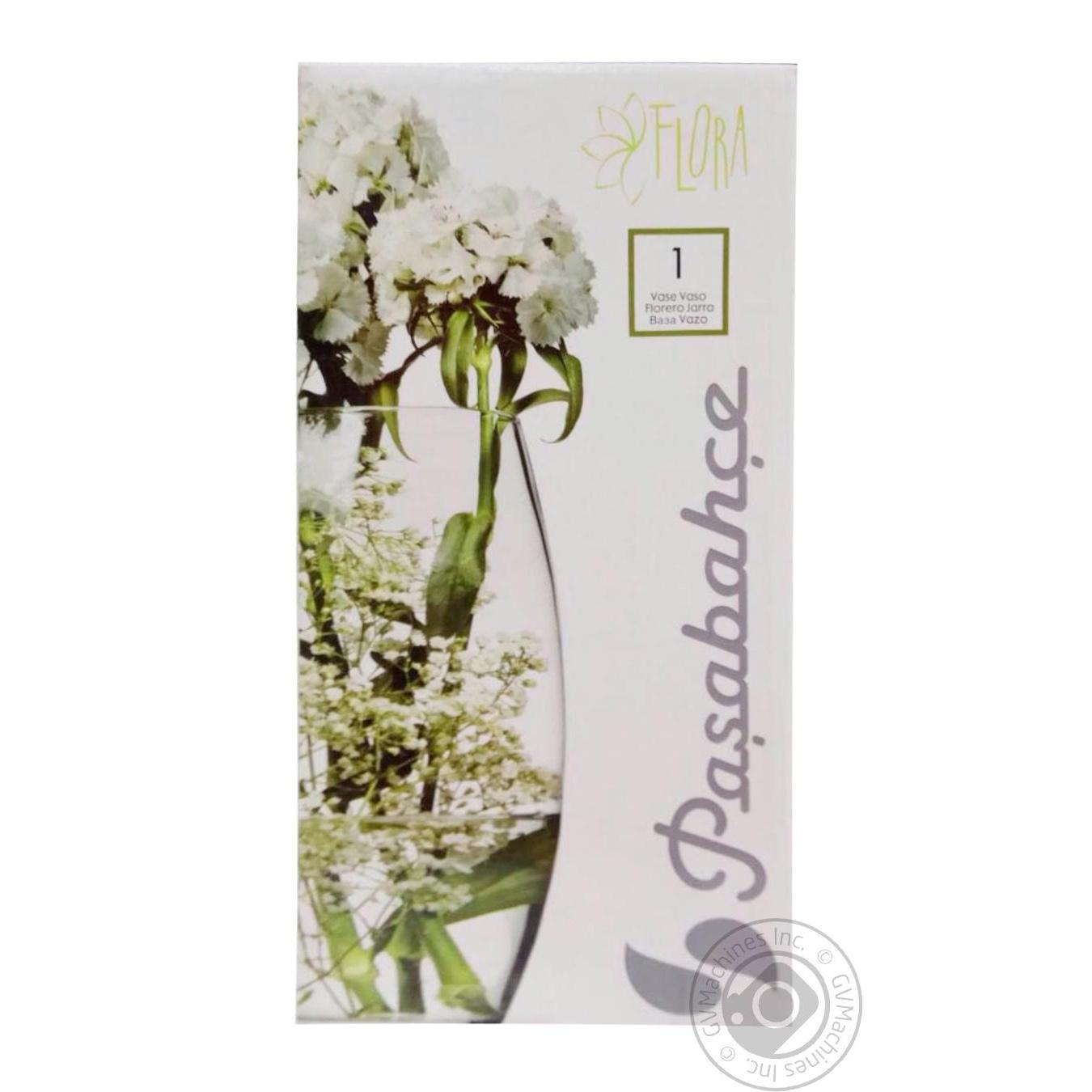 Купить Ваза Pasabahce Flora 275мл (форма в ассортименте)