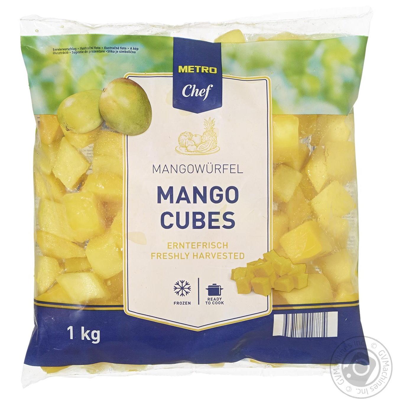 Купить Манго Metro Chef кубики замороженные 1кг