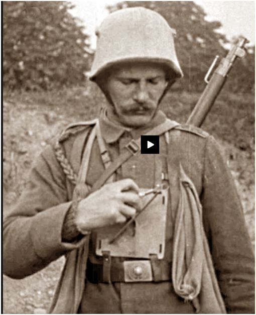 Image result for WW1 GERMAN soldiers with EGG GRENADE