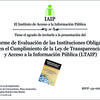 Presentacin Informe Acceso a la Informacin
