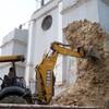 Vecinos del municipio de Santa Eulalia Luchan Contra Destruccion del Patrimonio