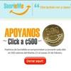 Con un click usted puede donar 500 colones