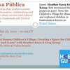 "Join us on Mesa Pública's Next Radio Show: ""Project Somos Children's Village: Creating a Space for Children to Live and Learn"""