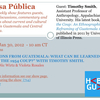 """Jan 30 on Mesa Pública """"Lessons From Guatemala: What Can Be Learned From The 1954 Coup?"""" With Timothy Smith"""