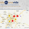 Journalist Claudia Méndez creates interactive map of homicides in Guatemala City