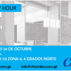 Invitación para Happy Hour en Chamba