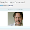 Was there Genocide in Guatemala?