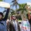 Protesta Frente Al Banco Mundial En El Salvador Y El Mundo
