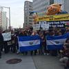 Protesta De La Comunidad Salvadoreña Frente Al Banco Mundial En Estados Unidos