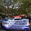 Movilización Nacional Por El Agua En El Salvador