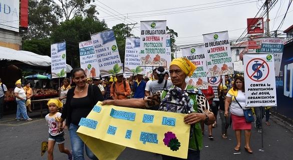 Marcha Contra La Privatización Del Agua