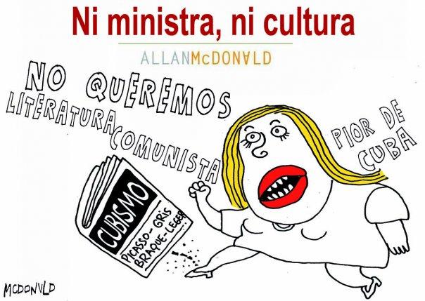 Ni ministra, ni cultura
