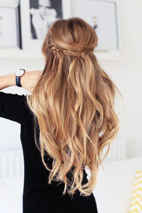 Half Up hair.com.au