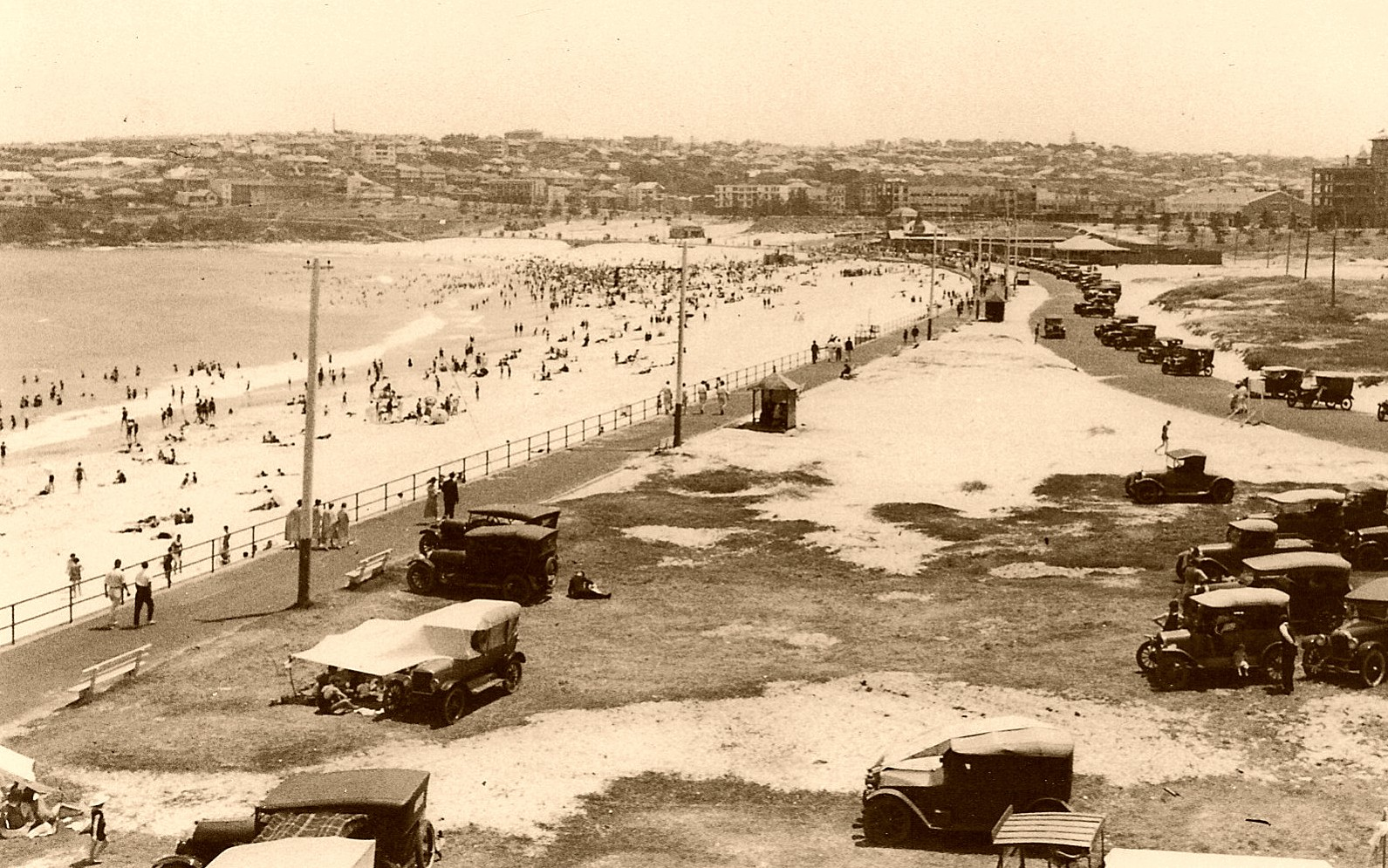 old photo bondi beach