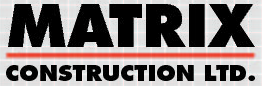 Website for Matrix Construction Limited