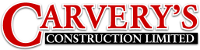 Website for Carvery's Construction Limited