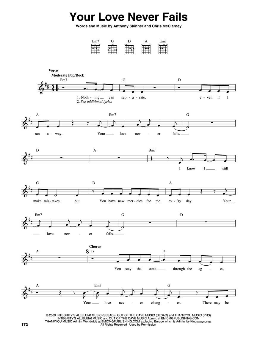 The Worship Guitar Anthology Volume 1 Melodylyricschords