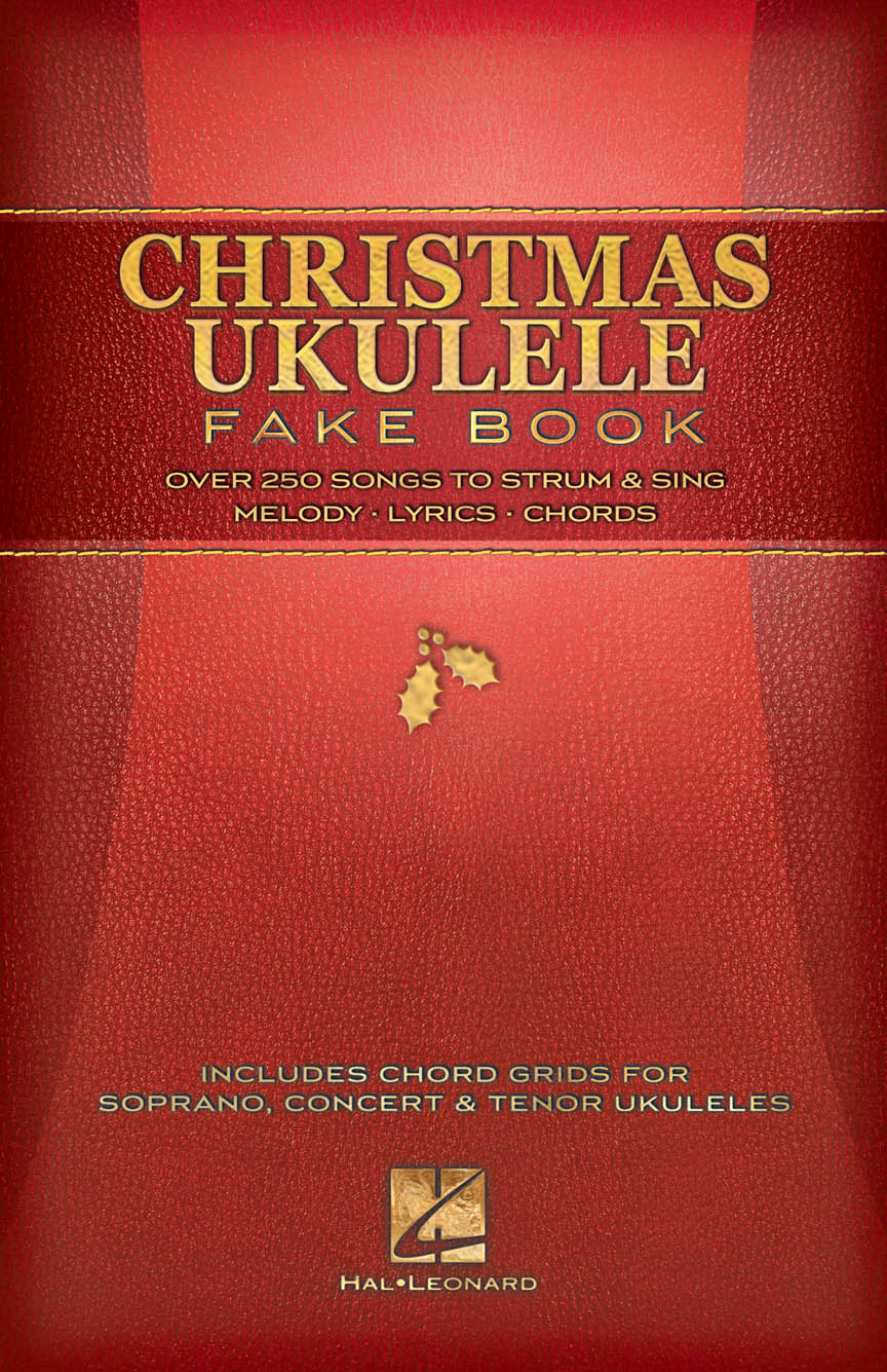 Christmas ukulele fake book melodylyricschords 120171 cover front cover hexwebz Images