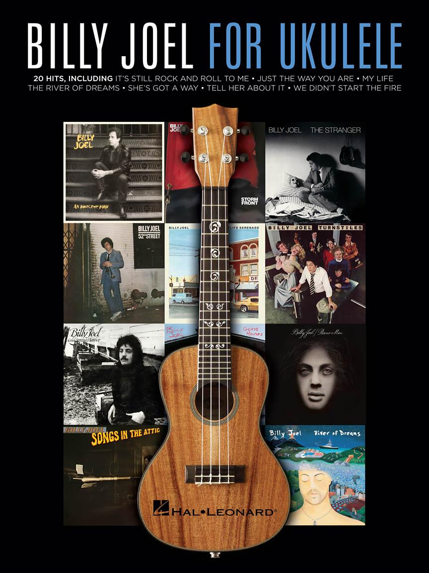 Billy Joel For Ukulele Ukulele Series Softcover Ukulele